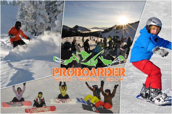 Snowboarden lernen im Sudelfeld - Von 9 bis 99 Jahren